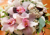 Bouquet of the bride — Stock Photo