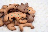 Sweet baked Cookies — Stock Photo