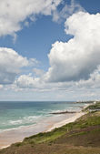 Sea view of the french Atlantic coast — Stock Photo