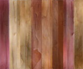 Guava wood and watercolor textured striped background — Stock Photo