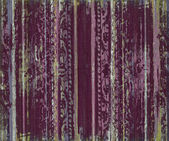 Berry grungy scroll work wood stripes — Stock Photo