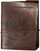 Old leather portfolio isolated — Stock Photo