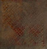 Orientalische metallisch aufgedruckten pergament — Stockfoto