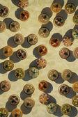Jewel box circles — Stock Photo