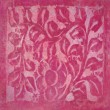 Stok fotoğraf: Pink flower and leaf abstract background