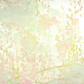 Watercolor Flowers Art Background — Stock Photo