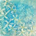 lśniące niebieski kwiat teksturowanej tło — Zdjęcie stockowe