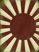 Antique Rising Sun Background — Stock Photo