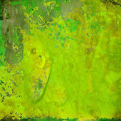 Colorful Green Grunge Abstract Background — Stock Photo