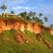 Tropical Huts on a Clifftop — Stock Photo