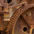 Rusted Engine Background — Stock Photo