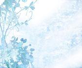 Pale Elegant Flower Art Textured Background — Stock Photo