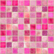 Stock Photo: Pink Tile Mosaic