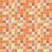 Orange Tile Mosaic — Stock Photo