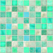 Aquamarine Tile Mosaic — Stock Photo #4973736