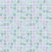 Pearly Blue Opal Mosaic seamless — Stock Photo
