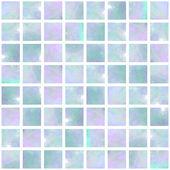 Blue Opal Mosaic seamless — Stock Photo
