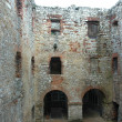 Stock Photo: Courtyard of castle