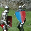 Duel between two knights — Stock Photo #4218722