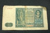 Old banknote — Fotografia Stock