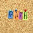 Stock Photo: Math conception