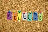 Verwelkoming — Stockfoto