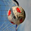 Soccerball in net — Stock Photo #4651066