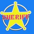 Stock Photo: Sheriff Badge