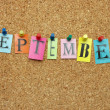 September — Stock Photo