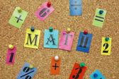 Math symbols — Stock Photo