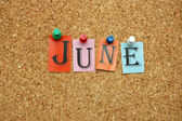 June on board — Stock Photo