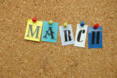 March on board — Stock Photo