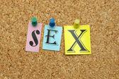 Sex on board — Stock Photo