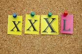 XXXL size — Stock Photo
