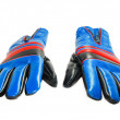 Blue gloves — Stock Photo #4100232