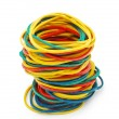 Colored elastic bands — Stock Photo #4115103