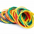 Stock Photo: Elastic bands