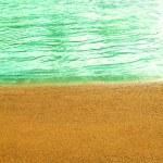Evening beach — Stock Photo