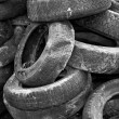 Used tires — Stock Photo #4116685