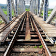 Stock Photo: Old railway bridge