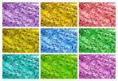 Colored tin foil textures — Стоковое фото