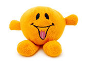 Orange plush toy — Stock Photo