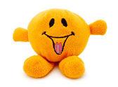Orange plush toy — Stock Photo