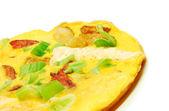 Omelet closeup — Stock Photo