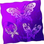 Fantastic Butterflies. — Stock Vector