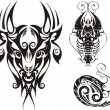 Fantasy Zodiac. - Stok Vektr