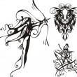 Royalty-Free Stock Vectorielle: Fantasy Zodiac.