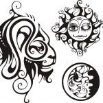 Fantasy Zodiac. — Stock Vector
