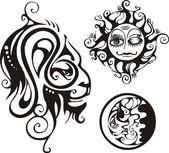 Fantasy zodiac. — Stockvektor