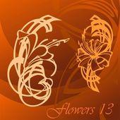 Flower. — Stock Vector